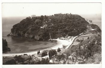 Greece - Corfu 1956 with stamps