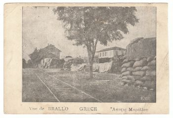 Greece - Vue de Brallo 1918