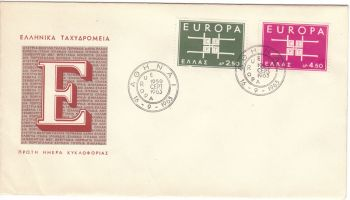 GREECE 1963 - EUROPA 1963