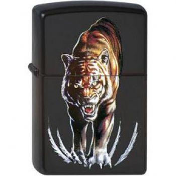 Zippo Tiger Midnight Terror  -  Free shipping