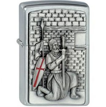 Zippo  Crusader with Sword  2008   -   Free shipping