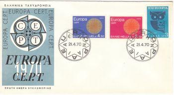 GREECE 1970 - EUROPA 1970