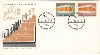 GREECE 1969 - EUROPA 1969