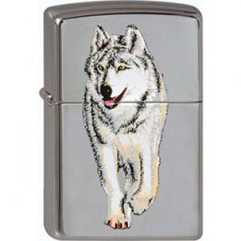 Zippo Lonely Wolf   -  Free shipping