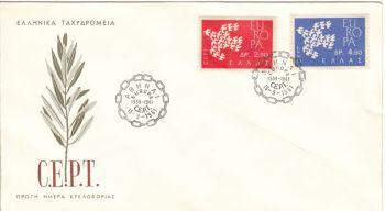 GREECE 1961 - EUROPA
