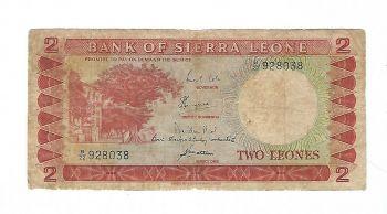 SIERRA LEONE 100 LEONES 1990 P-18 UNC