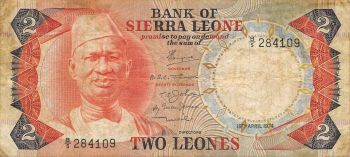 SIERRA LEONE 10.000 LEONES ND (2010) UNC