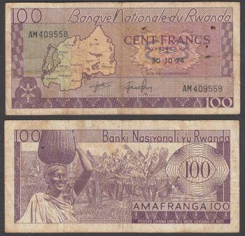 RWANDA 500 FRANCS 1.2.2008 UNC