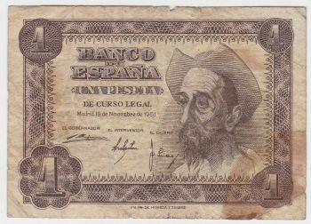 SPAIN 100 PESETAS 17.11.1970 P-152 UNC
