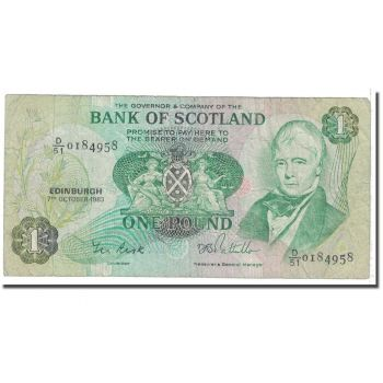 SCOTLAND 5 POUNDS 2005 P-352d UNC