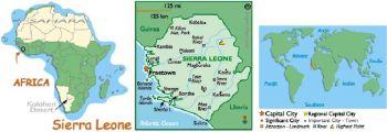 SIERRA LEONE 1 LEONE 1984 P-5e UNC