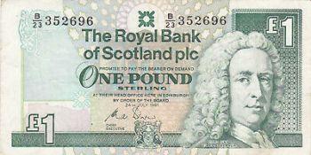 SCOTLAND 20 POUNDS 1999 P.228b UNC