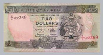 SOLOMON ISLANDS 10 DOLLARS 1996 P-20 UNC