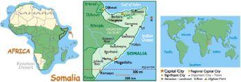 SOMALIA 100 SHILINGS 1987-8  P-35C UNC