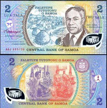 SAMOA (WESTERN), 2 TALA  POLYMER P 31 UNC