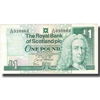 SCOTLAND CLYDESDALE BANK 20 POUNDS 2009 UNC