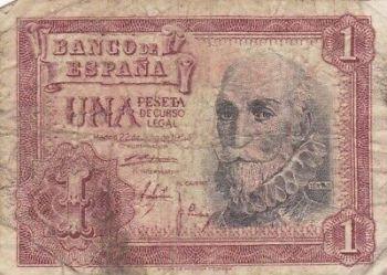 SPAIN 100 PESETAS 1965 P-150 UNC