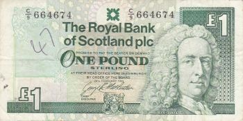 SCOTLAND 10 POUNDS 1995 P-120a UNC