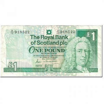 SCOTLAND CLYDESDALE BANK 10 POUNDS 2009 UNC