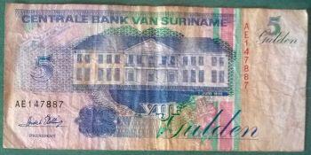 Suriname 1000 Gulden 2000 P 151 UNC