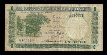 SIERRA LEONE 1000 Leones 2002 UNC