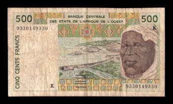 SENEGAL (WEST AFRICAN STATES)  1000 FRANCS 2003 P-715K UNC