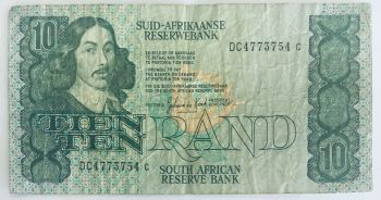SOUTH AFRICA 5 RAND P-119  UNC