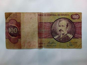 BRAZIL 10 NOVOS CRUZ. on 10.000 CRUZADOS 1989 AUNC