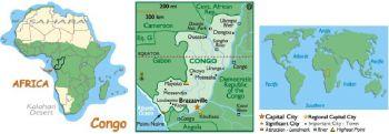 CONGO 50 CENTIME 1997 P 84 UNC