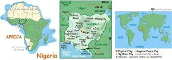 NIGERIA 10 NAIRA 2006 P 33 UNC
