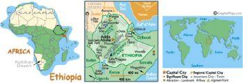 ETHIOPIA 1 BIRR 2006 UNC