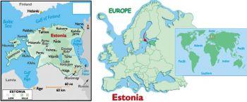 ESTONIA 5 KROONI 1994 P 76 UNC