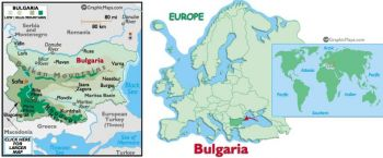BULGARIA 8 CARPS 2012  UNC