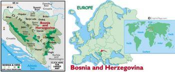 BOSNIA HERZ. (NARODNA BANKA) 1 DINARA 1994 P39 UNC