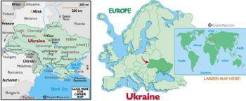 UKRAINE 20.000 KARBOVANTSIV 1996  UNC