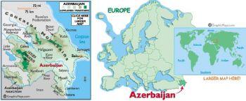 AZERBAIJAN 1000 MANAT 2001 P 23 UNC