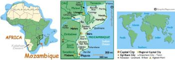 MOZAMBIQUE 500 ESCUDOS 1967 P 118 UNC