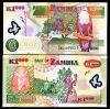 Zambia 1000 Kwacha 2008-09 Polymer Unc