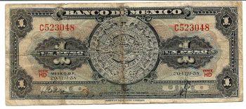 MEXICO 20 PESOS 2005 POLYMER P 116 X SERIES UNC