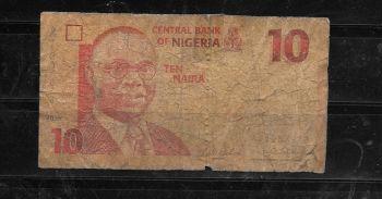 NIGERIA SET  5-10-20 NAIRA 2004-05 P-24,25,26 UNC