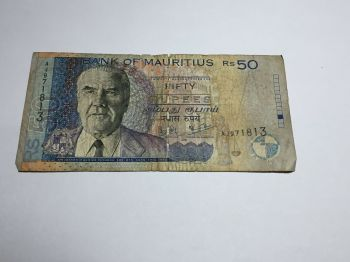 MAURITIUS 25 RUPEES 2013 POLYMER UNC