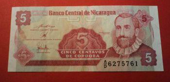 NICARAGUA 200 CORDOBAS 2007 (2012) POLYMER P-205 UNC