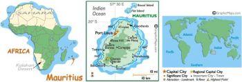 MAURITIUS 25 RUPEES 2009 UNC
