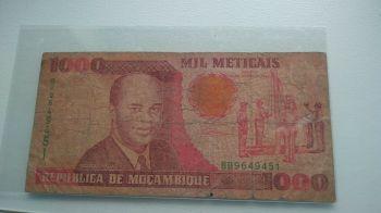MOZAMBIQUE SET 20-50-100 METICAIS 2011 POLYMER UNC