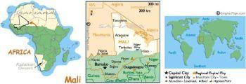 MALI (WEST AFRICAN STATES) 1000 FRANCS 2003 (2005) P-415D UNC