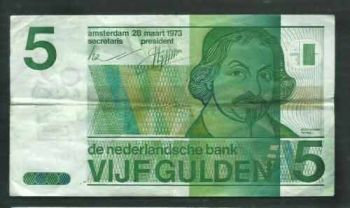 NETHERLANDS 1 Gulden 1-10-1938  UNC