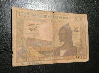 MALI WEST AFRICAN STATES 2000 FRANCS 2003 P-416D UNC
