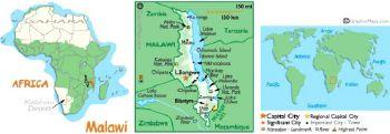 MALAWI 100 KWACHA 2003-2005 UNC