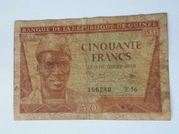MALI (WESTERN AFRICAN STATES) 1000 FRANCS P-415D UNC