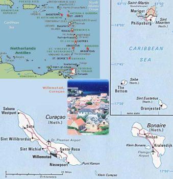 NETHERLAND ANTILLES Curacao 5 GULDEN 1984 P-15 UNC